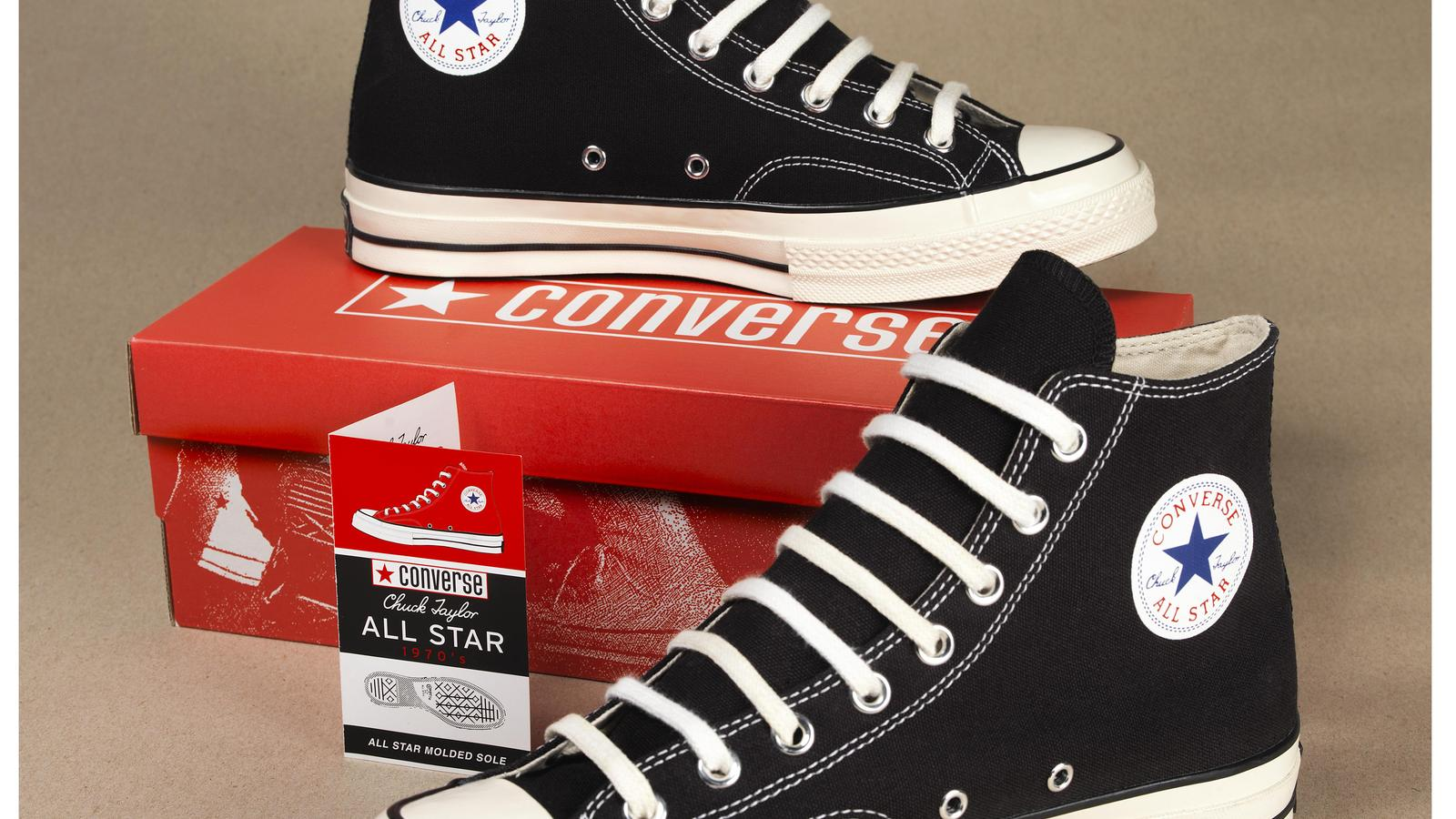 bb3f19595d5 Converse launches the 1970s Chuck Taylor All Star - Nike News