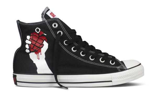 adc145068de919 Green Day Chuck Taylor All Star Collection Features Band s Iconic Album  Artwork
