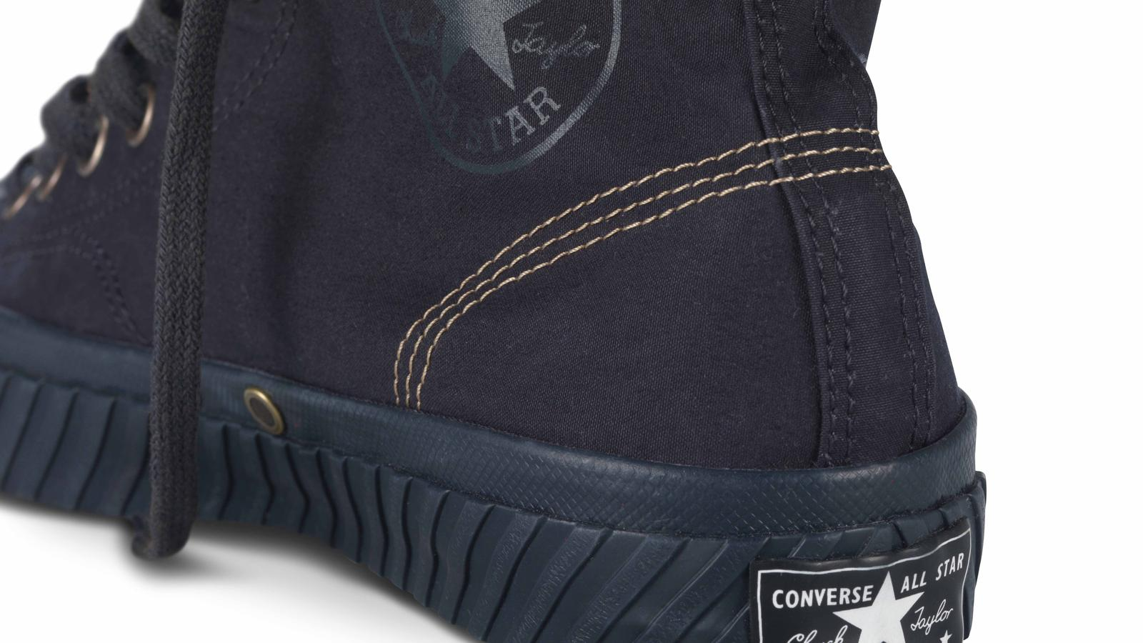Nigel Cabourn For Converse Bosey Boot. Back Detail Original
