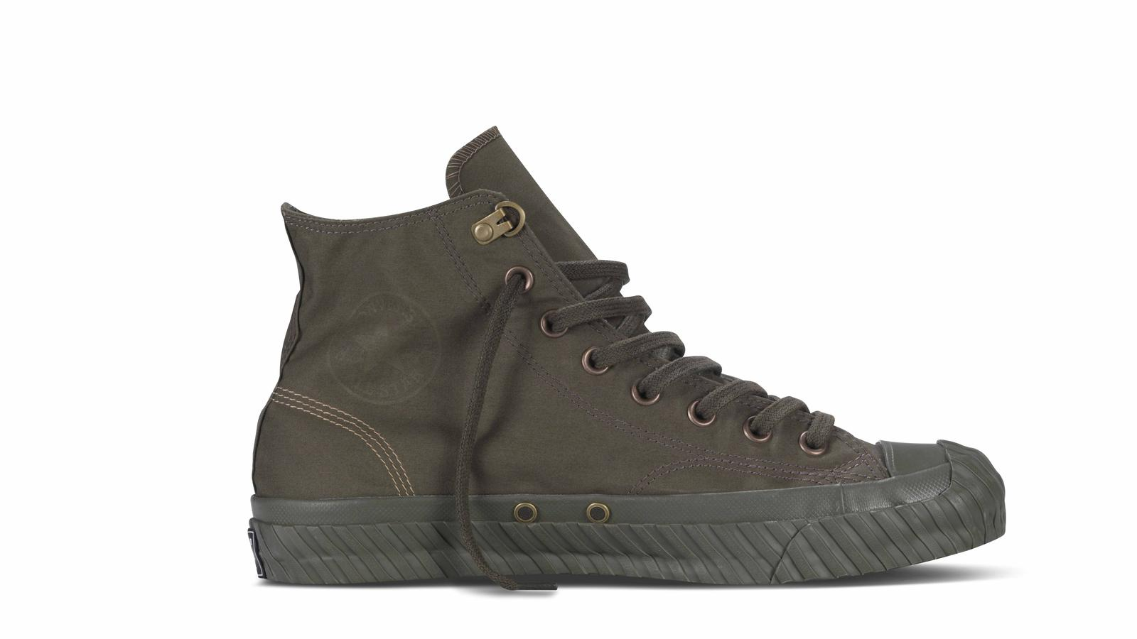 Nigel Cabourn Brings Military Influence to New Converse