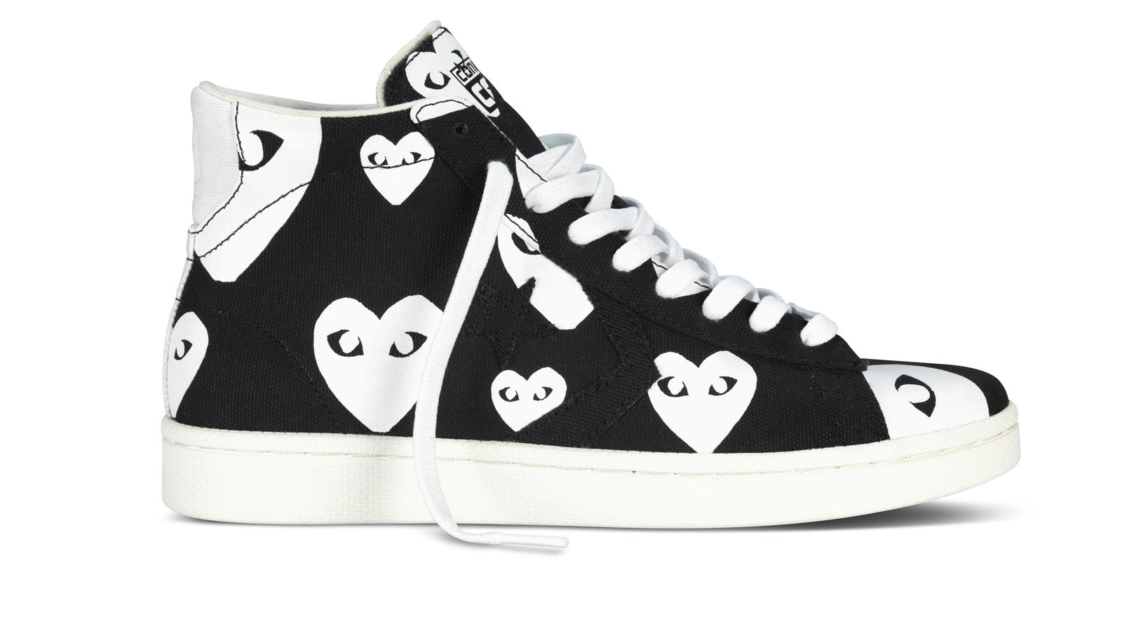 Converse X Cdg Black Hi Right Original