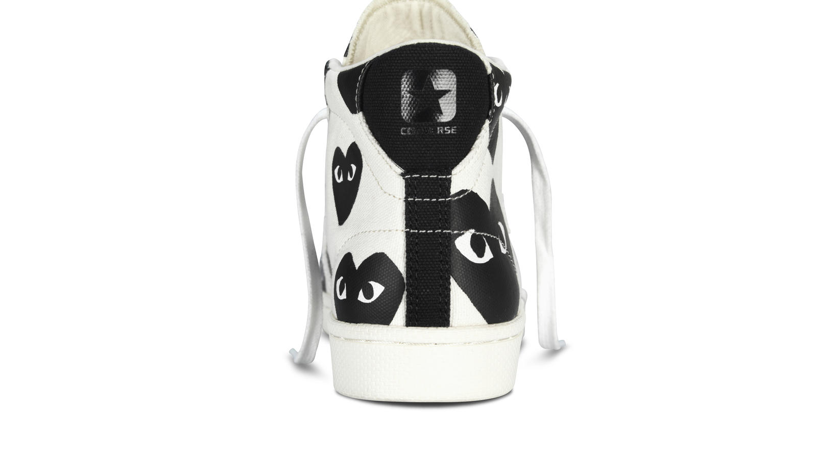 Converse X Cdg White Hi Back Original