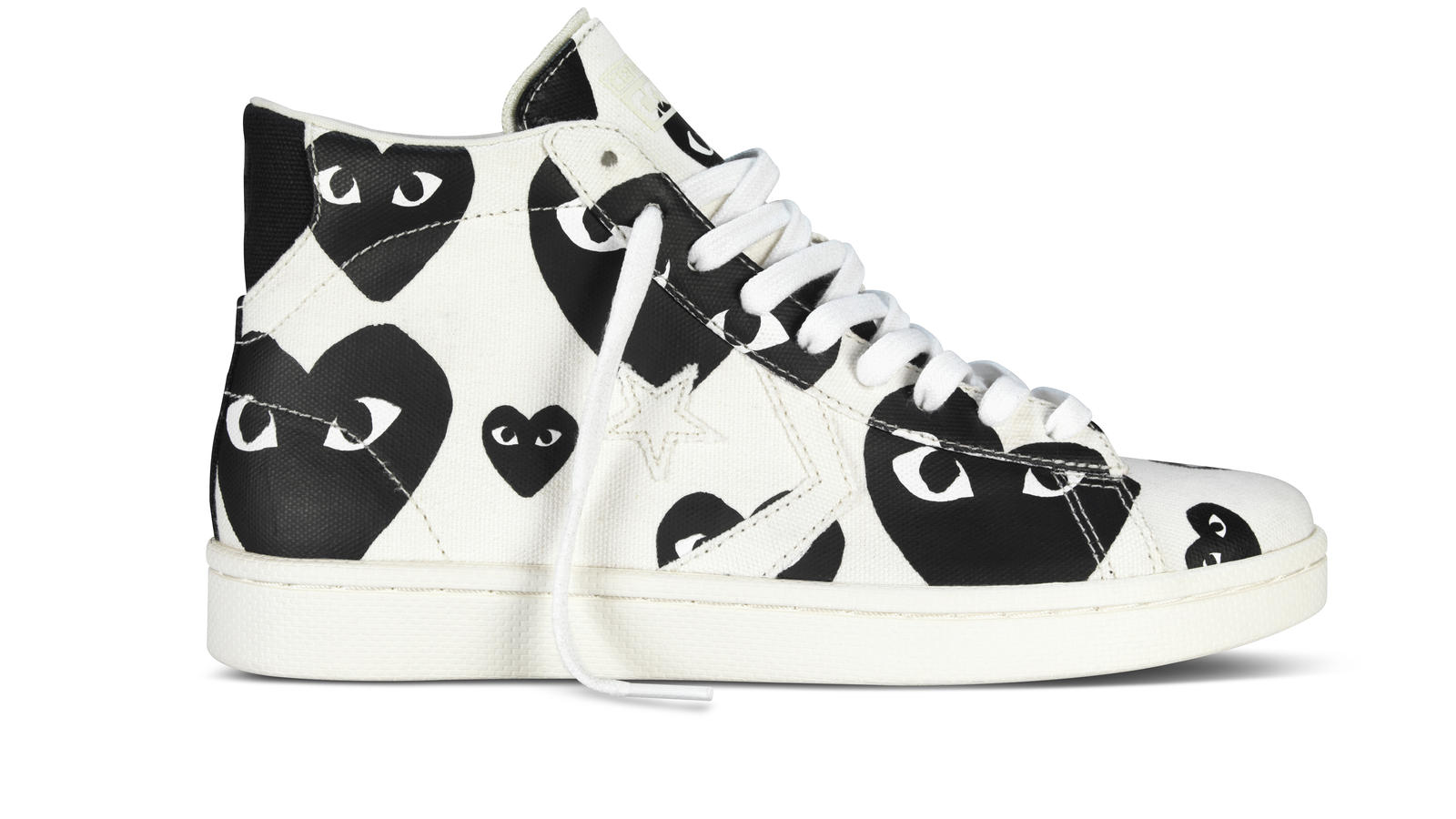 Converse X Cdg White Hi Right Original