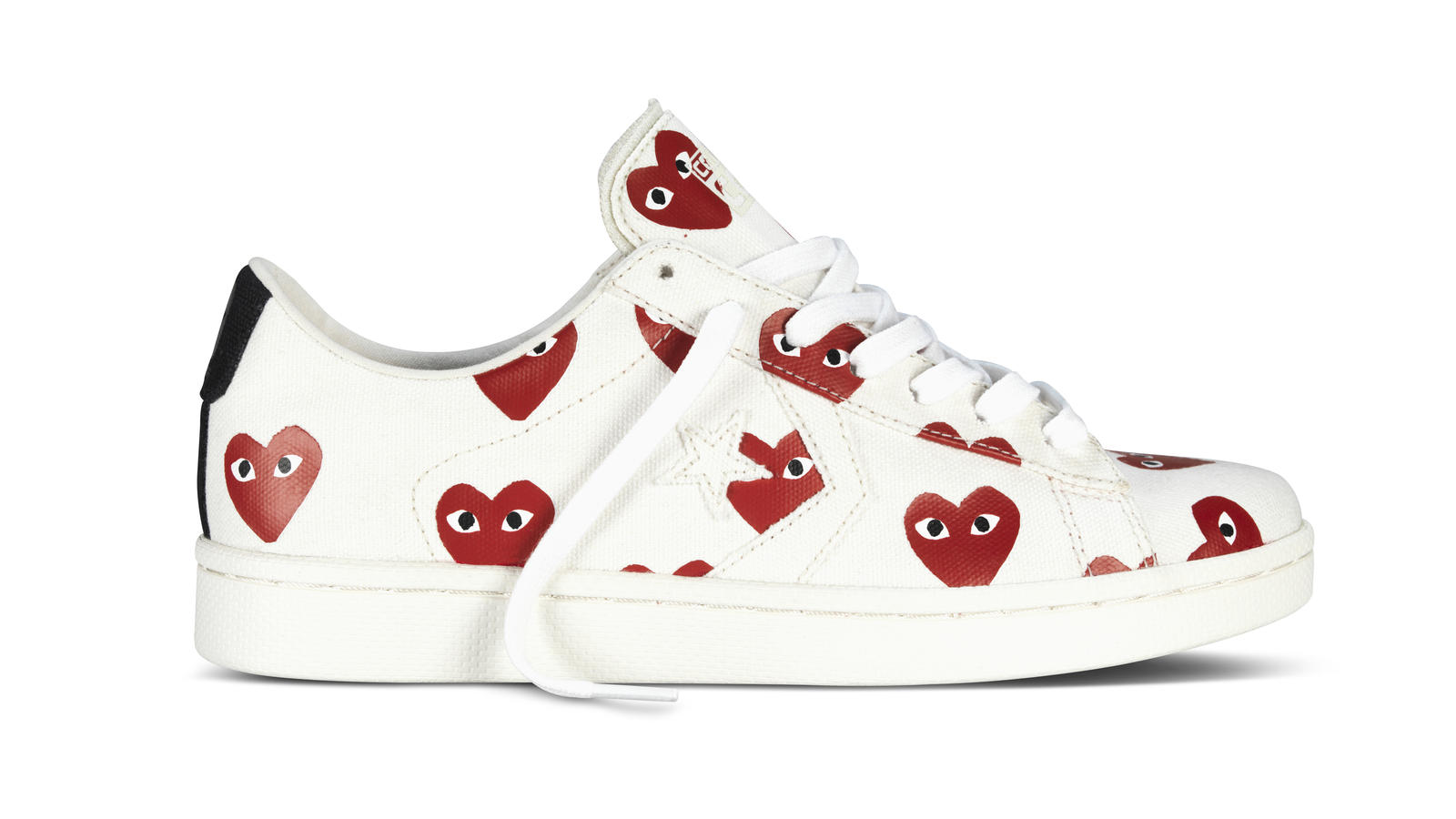 Converse X Cdg White Ox Right Original