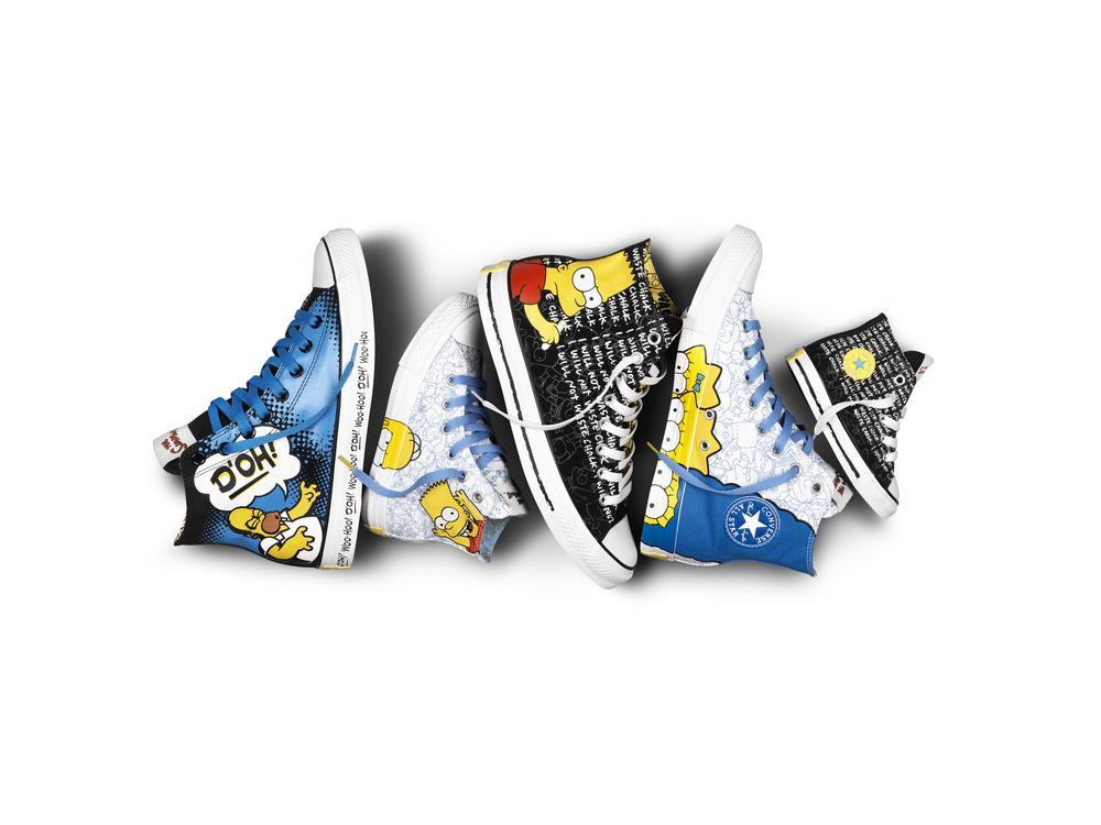"Converse Launches Footwear Collection Featuring ""The Simpsons"""
