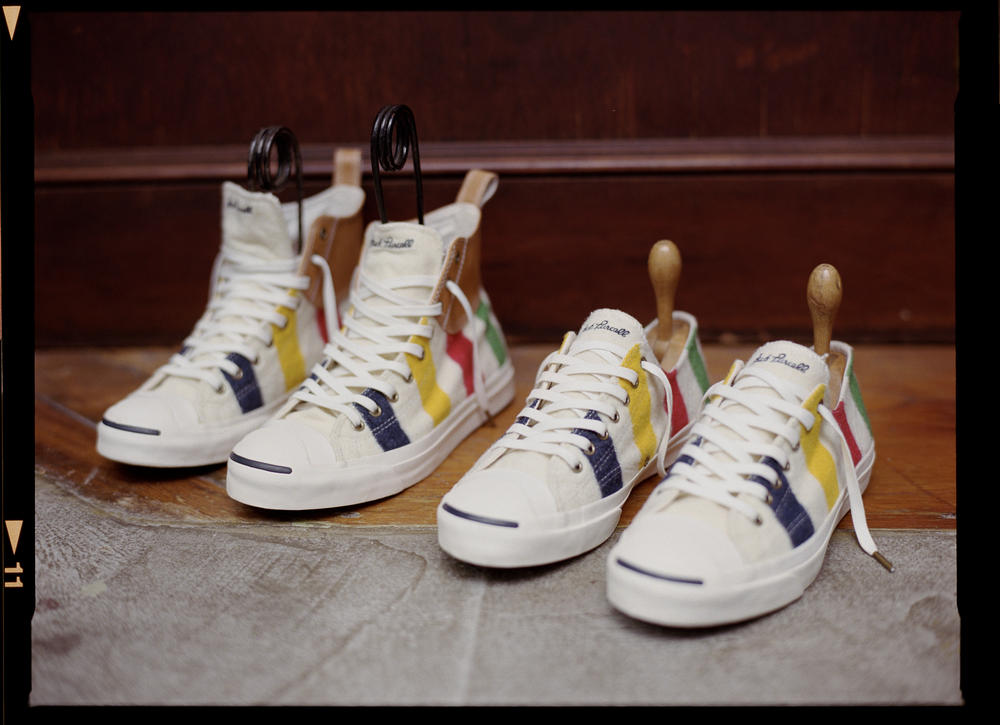 Converse Debuts Fall 2013 Hudson's Bay Company Jack Purcell Collection