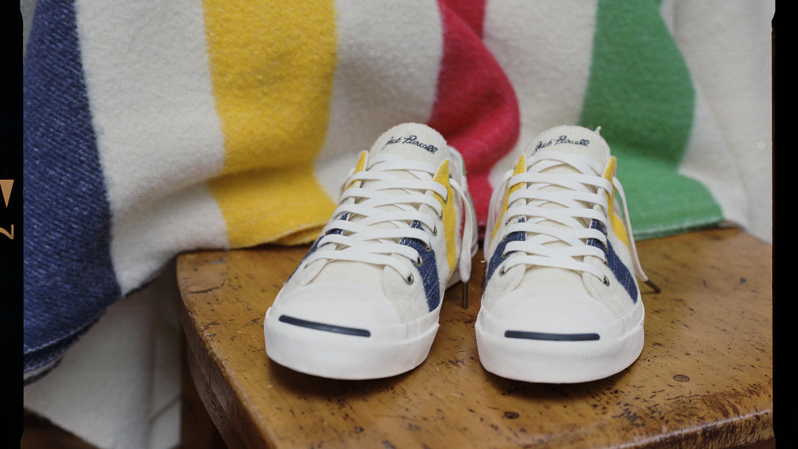 Converse X Hudsons Bay Company Jack Purcell Shelf Original