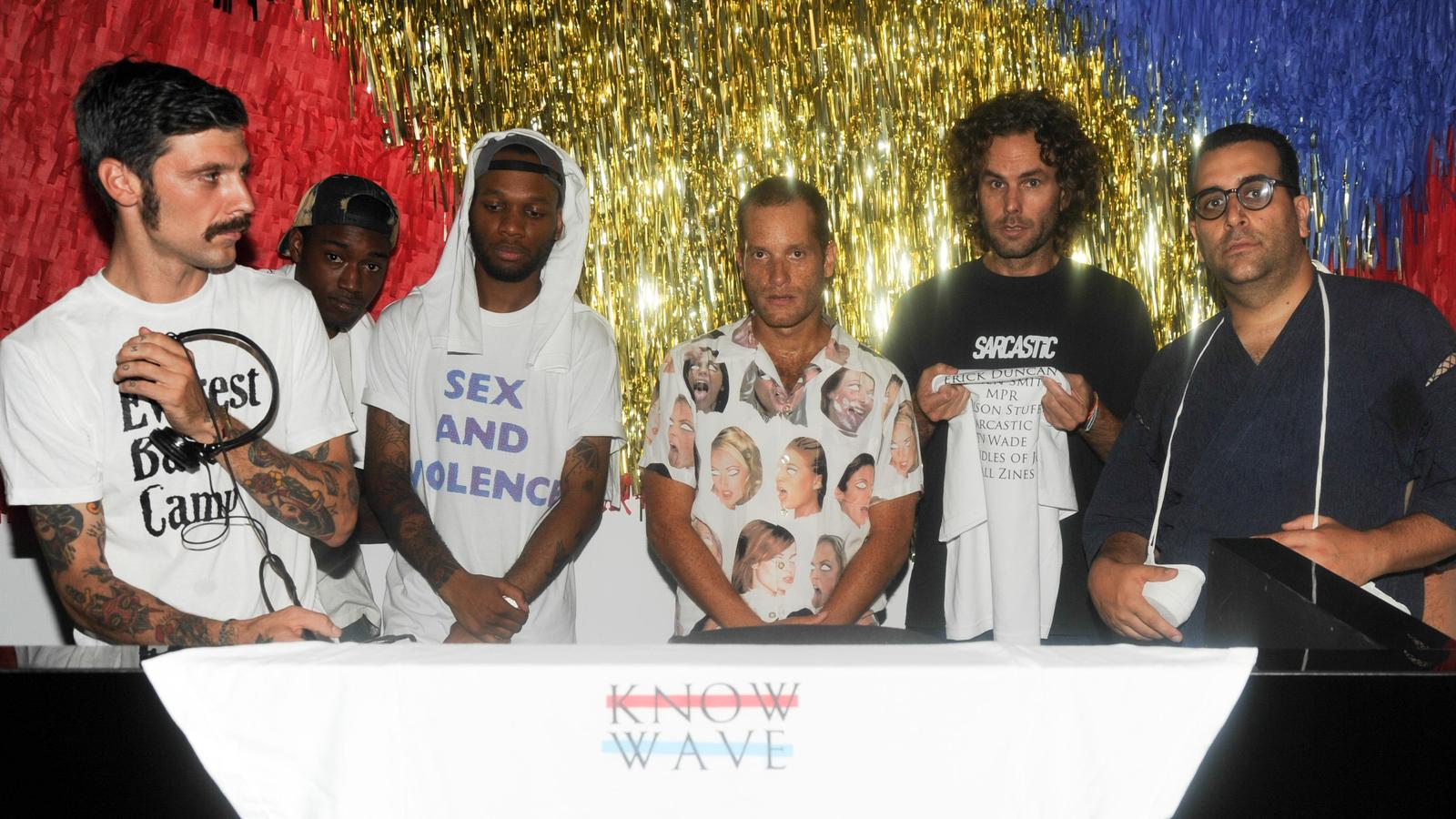 D Js Aaron Bondaroff And Know Wave Crew At Converse Mmm Launch Event Bfa Original