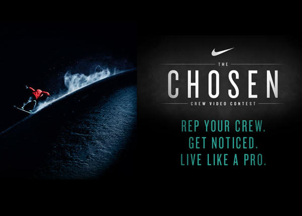 The Chosen Video Snowboard Crew Contest