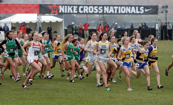 Manlius Earns Sixth Consecutive Girls' Club Title at Nike Cross Nationals
