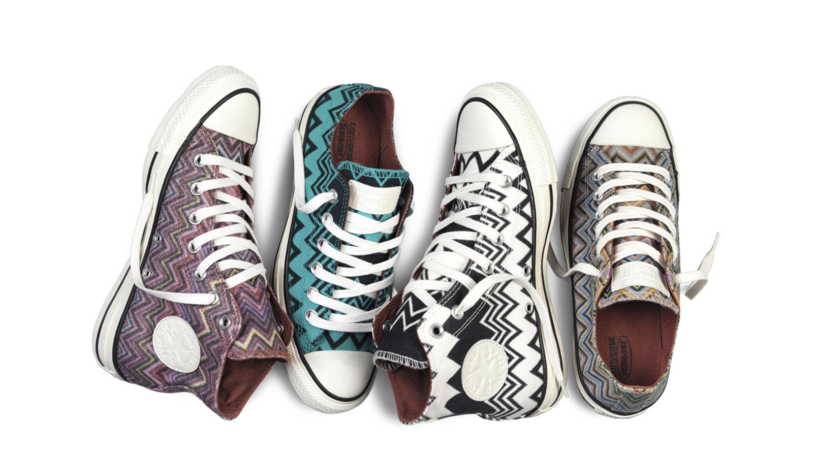 3db6eeb640a4 Converse Debuts Fall 2014 Chuck Taylor All Star Missoni Collection ...