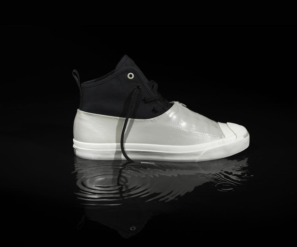 CONVERSE JACK PURCELL AND HANCOCK VULCANISED ARTICLES COLLABORATE AGAIN