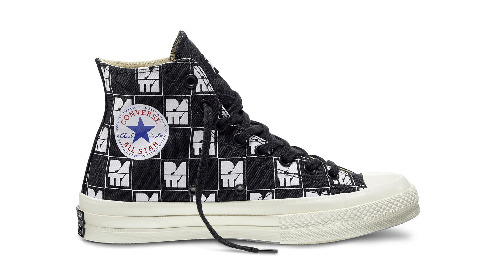 Converse All Star Ct70 Patta10 Black White Original