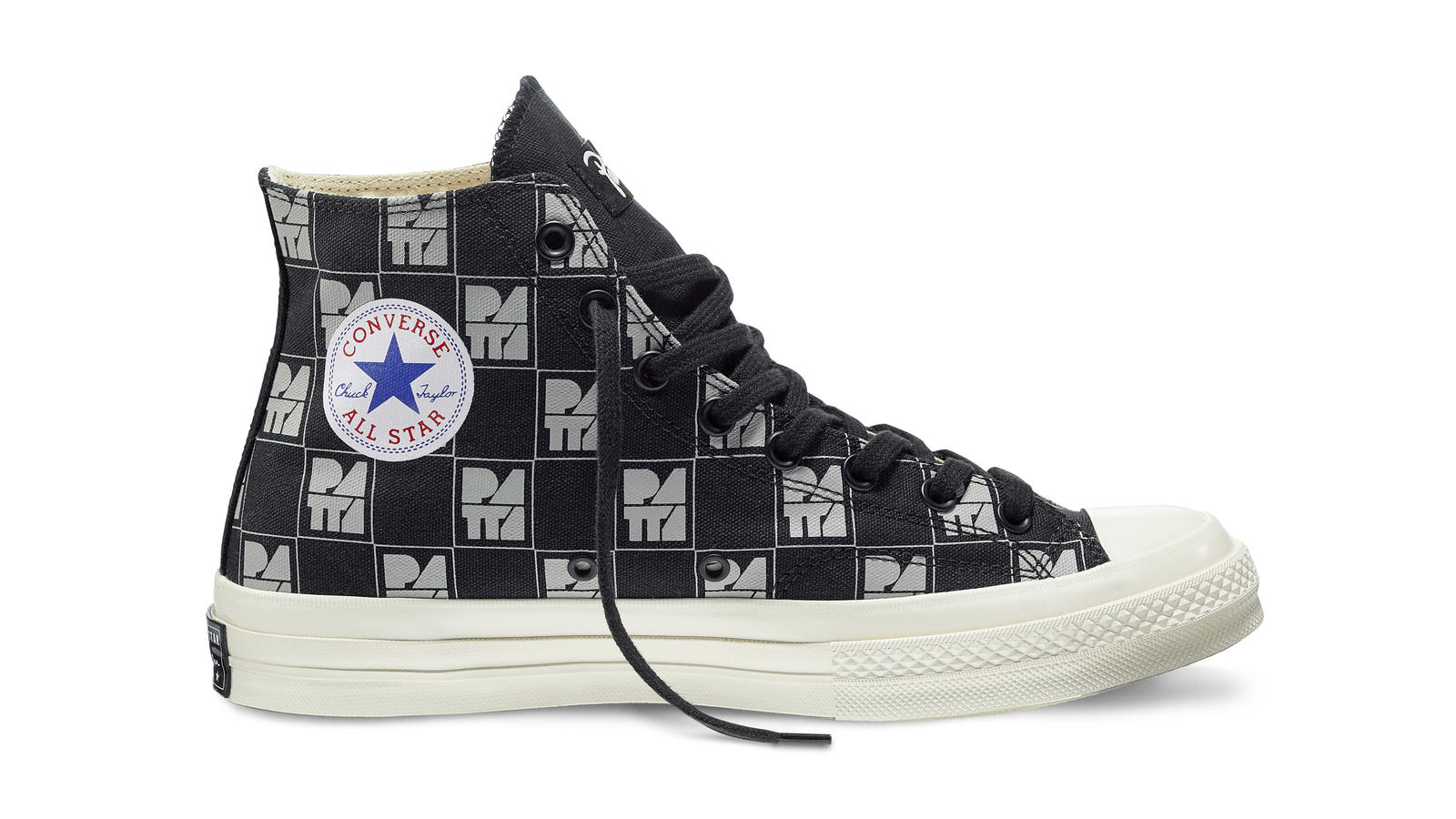 Converse All Star Ct70 Patta10 Black Gray Original