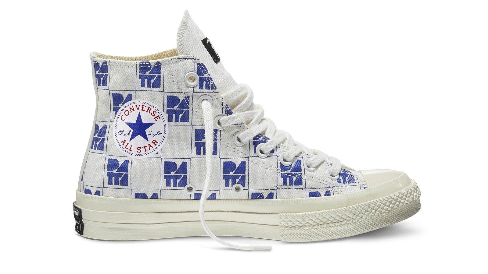 Converse All Star Ct70 Patta10 White Blue Original