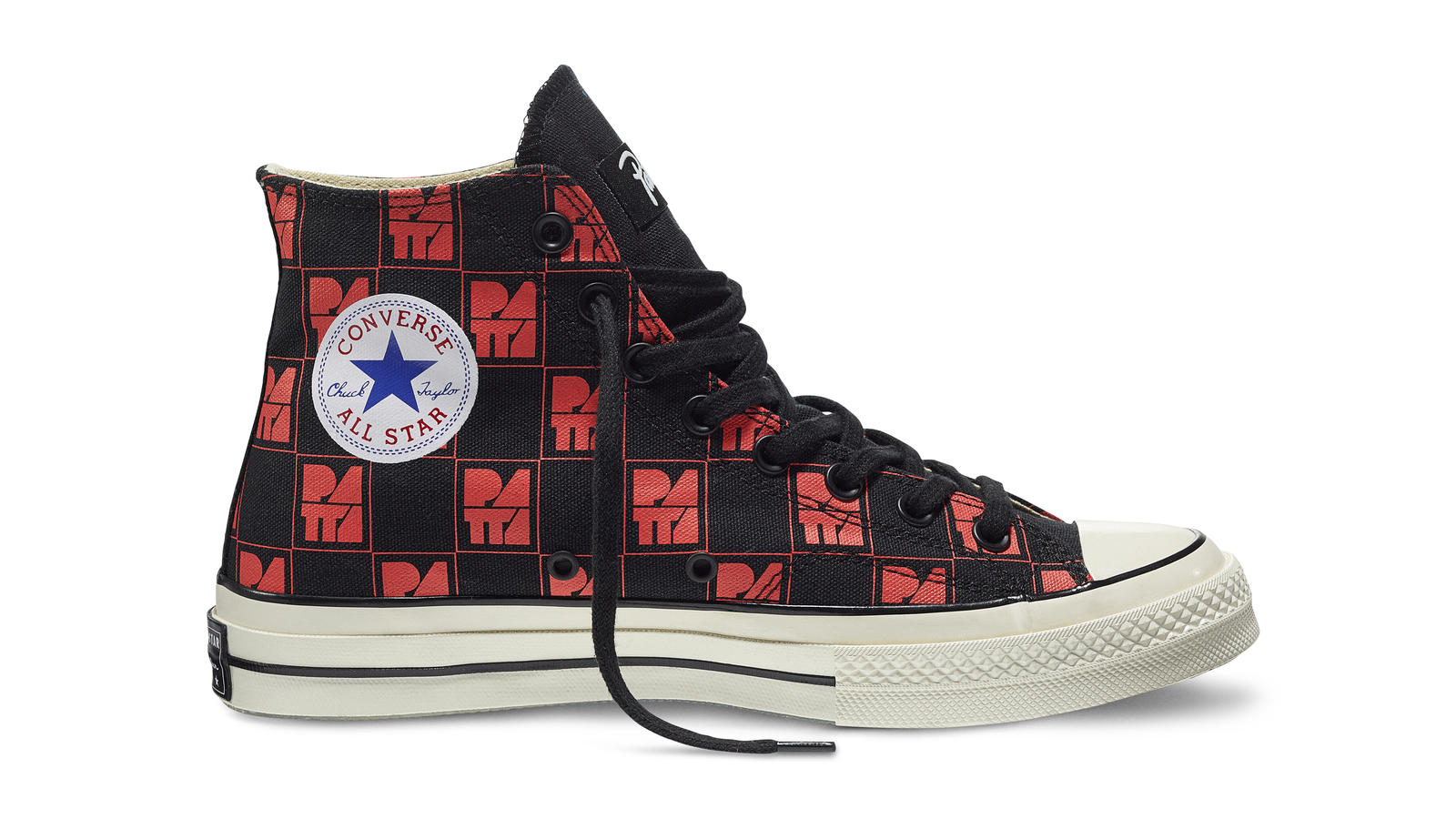 Converse All Star Ct70 Patta10 Black Red Original