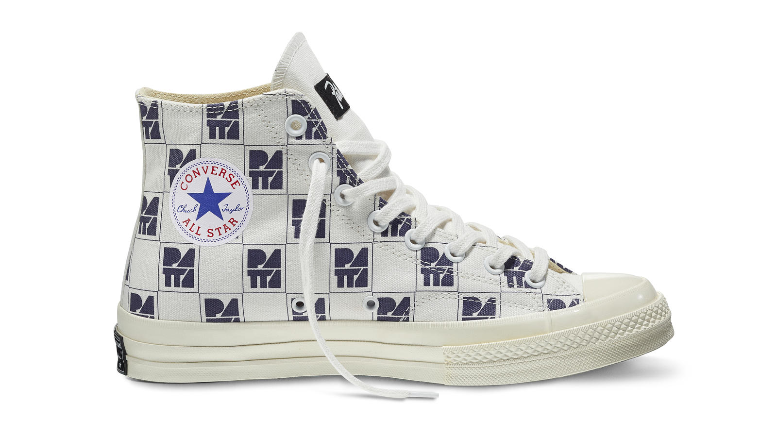 Converse All Star Ct70 Patta10 White Navy Original