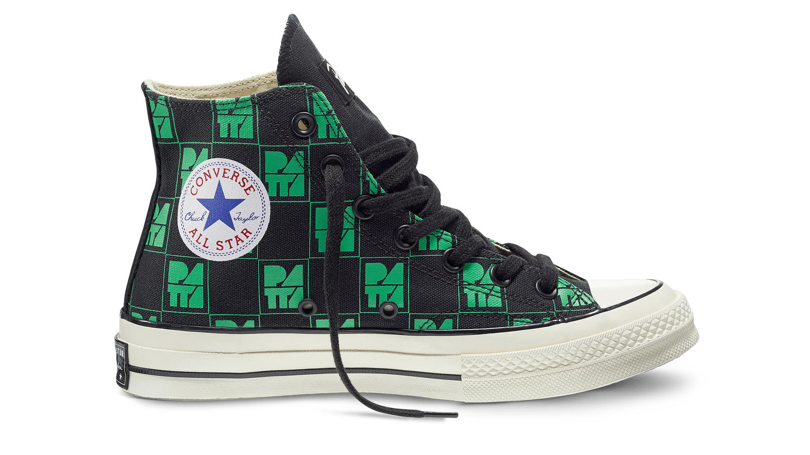 Converse All Star Ct70 Patta10 Black Green Original