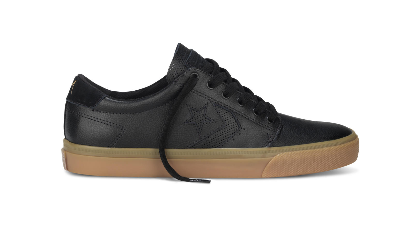 Converse Cons Ka3   Black And Gum Original