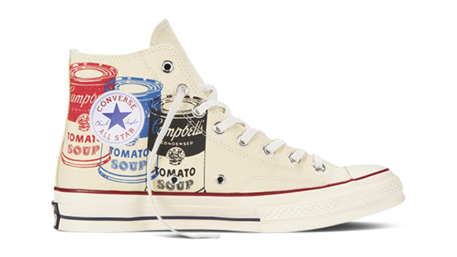 84e7132073d2 Converse Chuck Taylor All Star 70 Andy Warhol Campbells Soup Hi Original