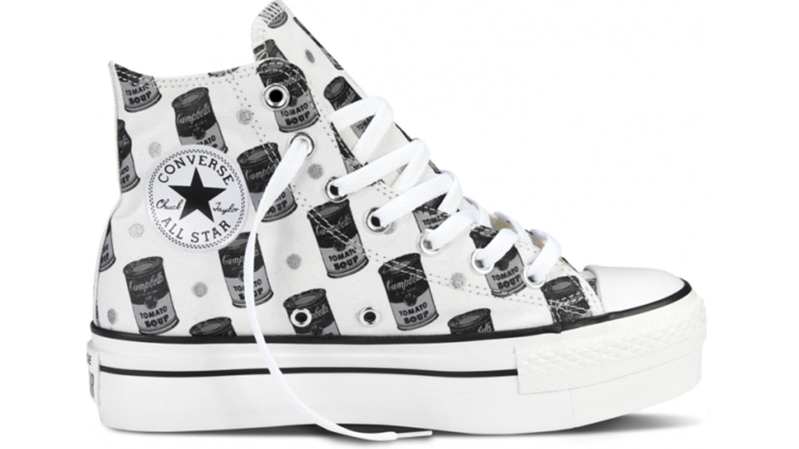 cheap for discount 32627 b1945 ... Converse Celebrates the Creative Spirit of Andy Warhol  Shop for Converse  All Star Lo Campbells Soup ...