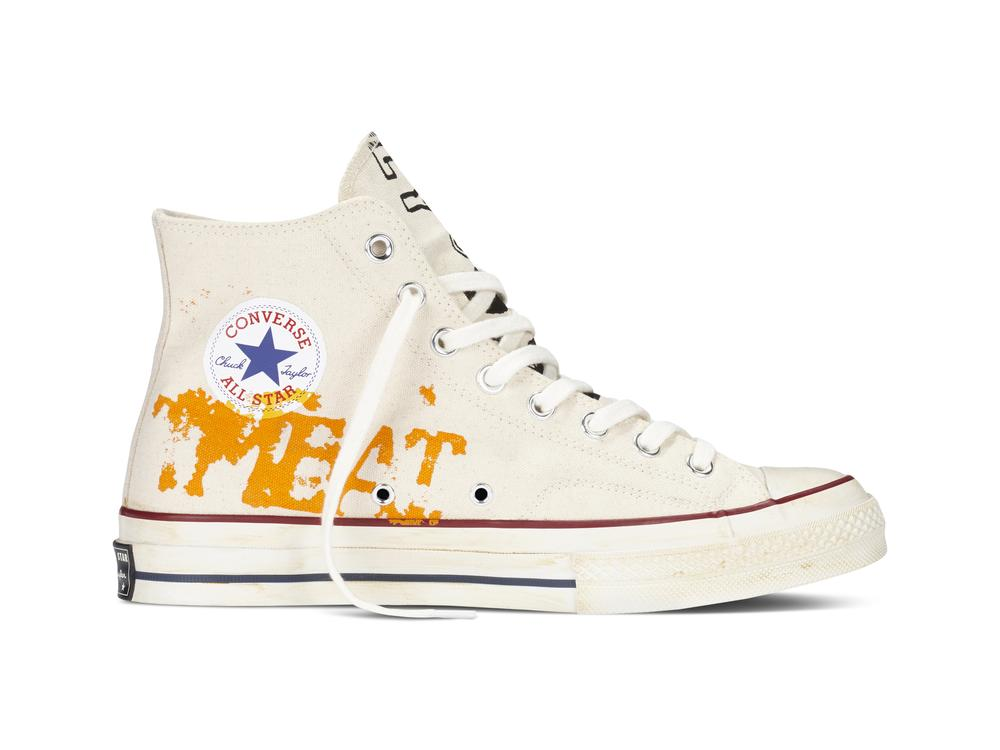 CONVERSE UNVEILS LIMITED EDITION ANDY WARHOL SNEAKER