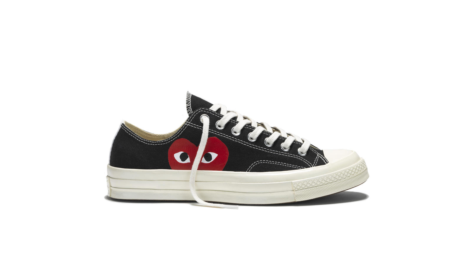6134cc60f9ac Chuck Taylor All Star 70 Play Comme Des Garcons Black Low Top Original