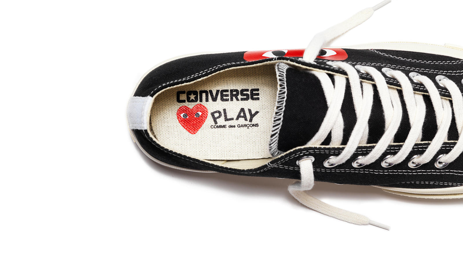CONVERSE AND COMME DES GARCONS ANNOUNCE NEW PLAY COLLABORATION ... 22419c333