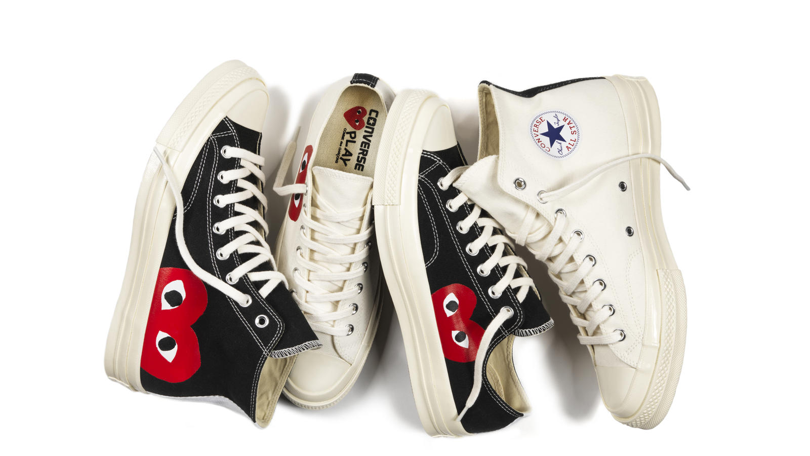 CONVERSE AND COMME DES GARCONS ANNOUNCE NEW PLAY COLLABORATION