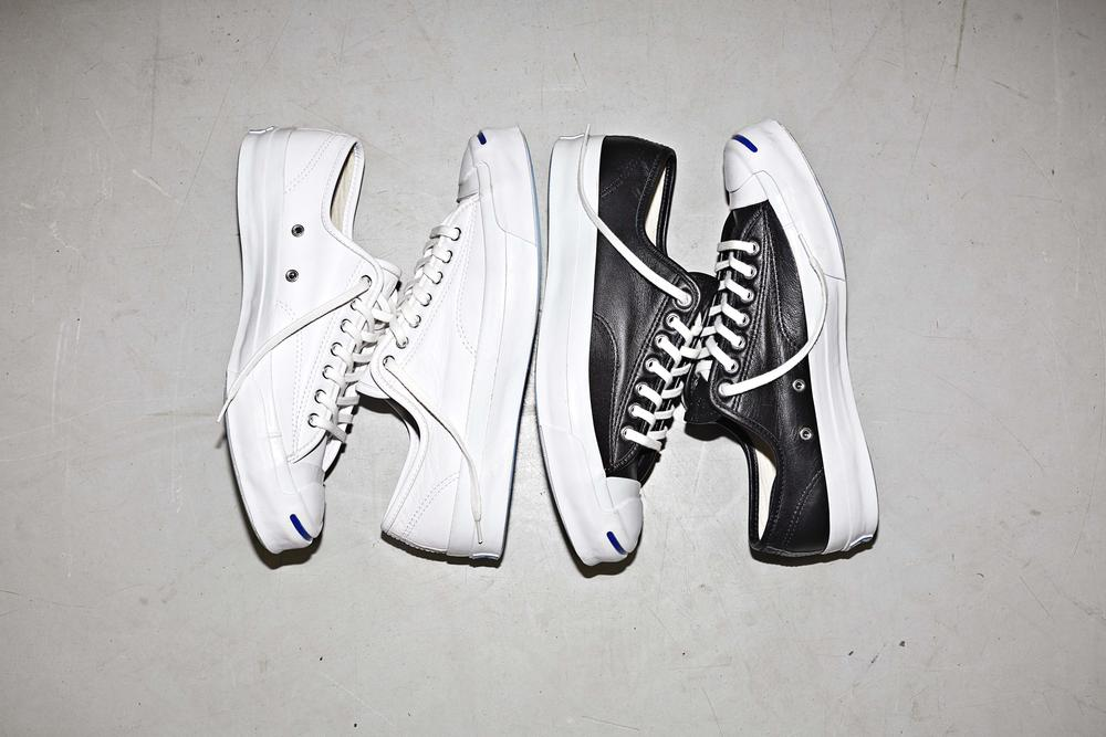CONVERSE JACK PURCELL UNVEILS NEW SIGNATURE SNEAKER IN PREMIUM LEATHER