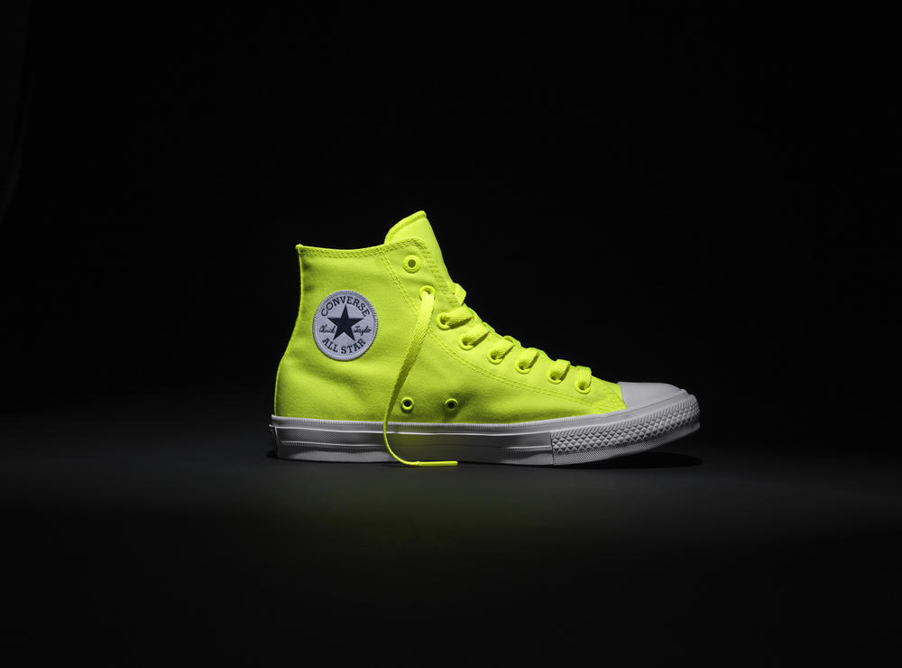 c4a4cafa0789 CONVERSE CHUCK TAYLOR ALL STAR II SHOWS ITS TRUE COLORS WITH LIMITED  EDITION VOLT COLOR