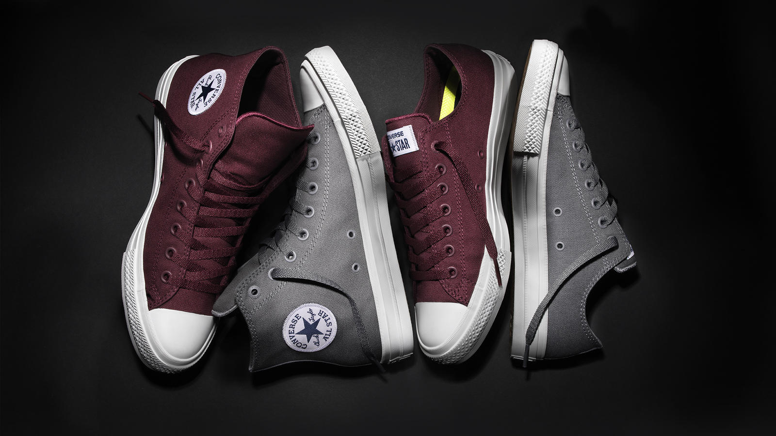 3f89677a2935 CONVERSE CHUCK TAYLOR ALL STAR II UNVEILS NEW SEASONAL COLORS - Nike ...