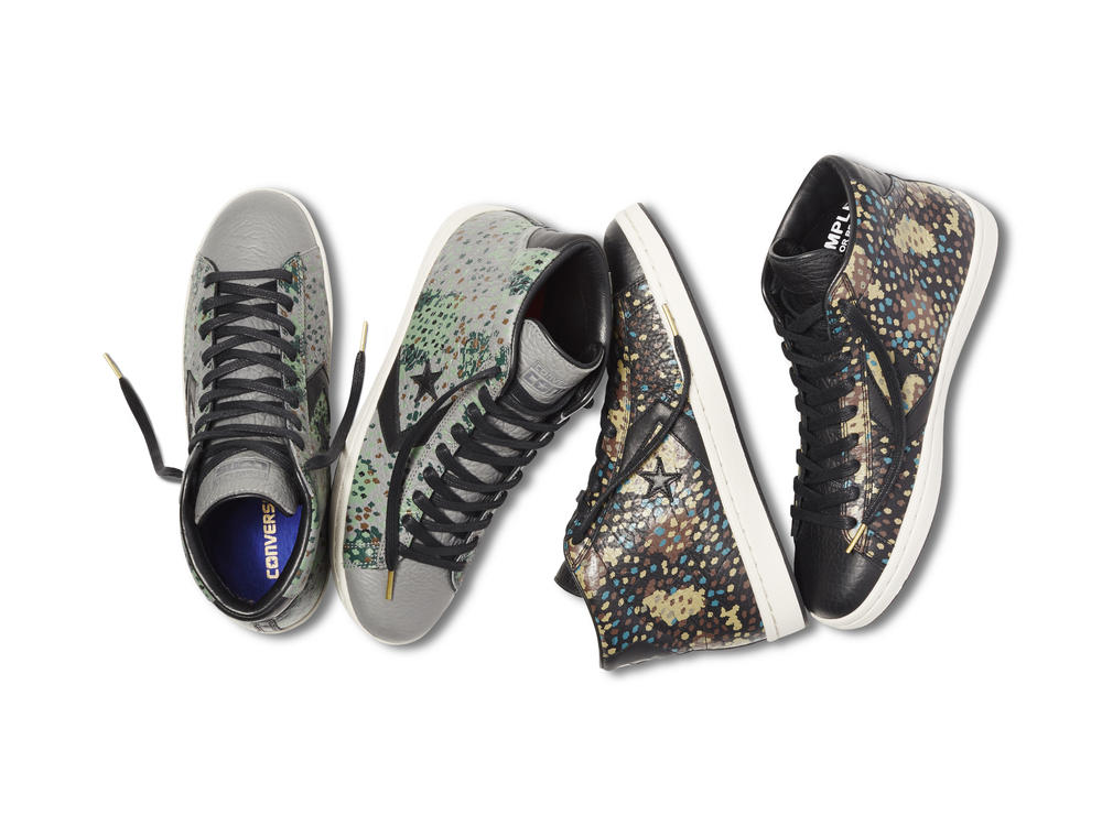CONVERSE CONS LAUNCHES PRO LEATHER PAINTED CAMO COLLECTION