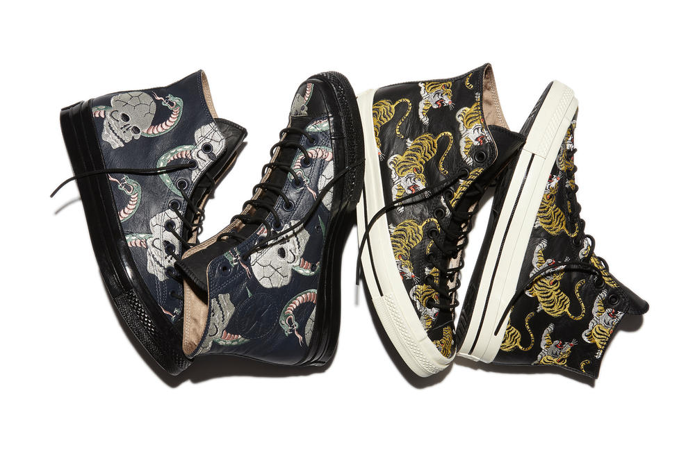 CONVERSE DEBUTS CHUCK TAYLOR ALL STAR '70 FIRST STRING SOUVENIR JACKET COLLECTION