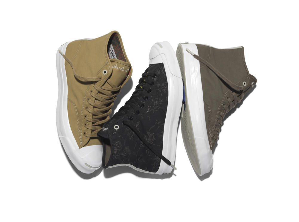 CONVERSE JACK PURCELL AND HANCOCK VULCANISED ARTICLES REVEAL NEW SIGNATURE HI SNEAKER