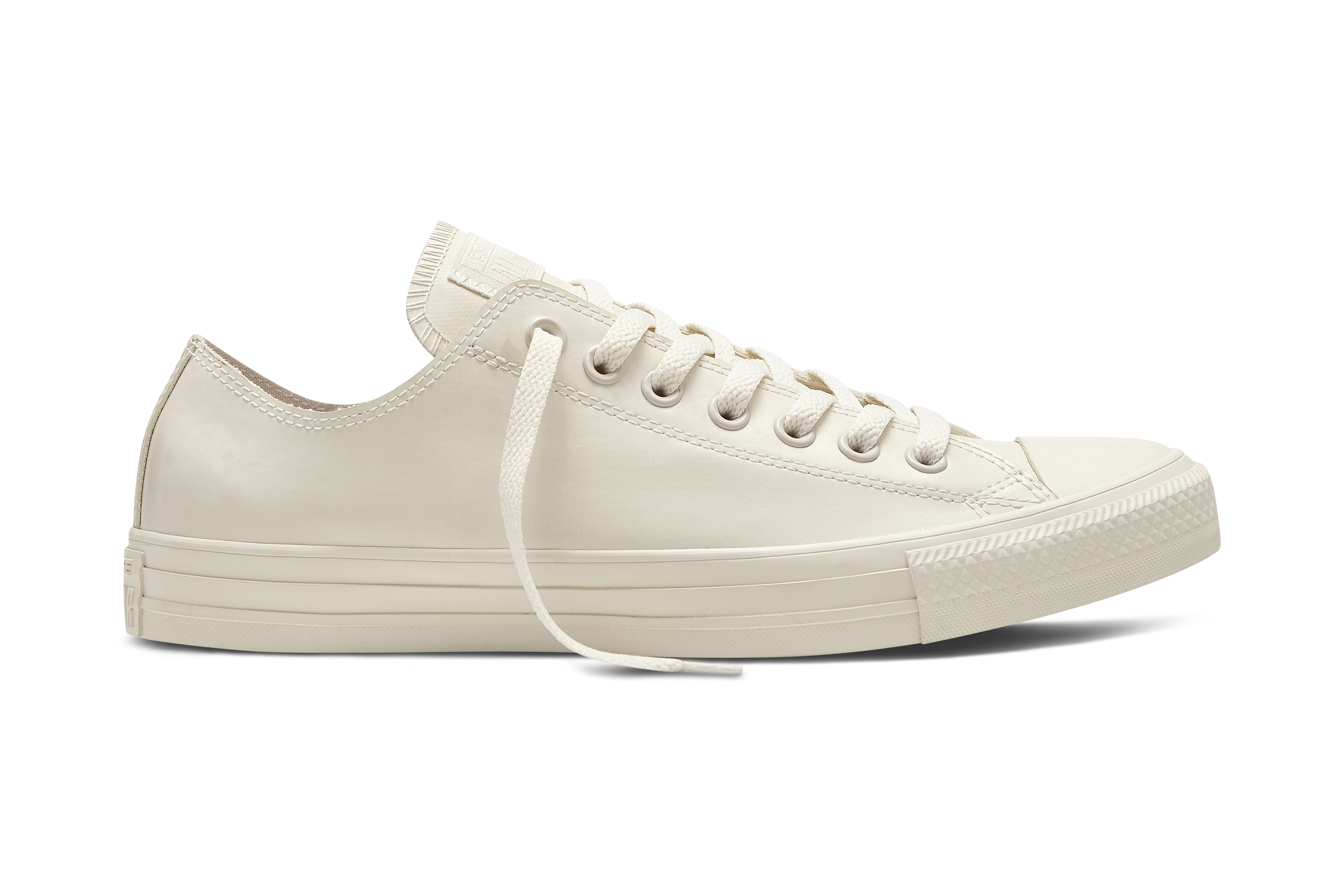 Converse Mens Chuck Taylor All Star Rubber Parchment