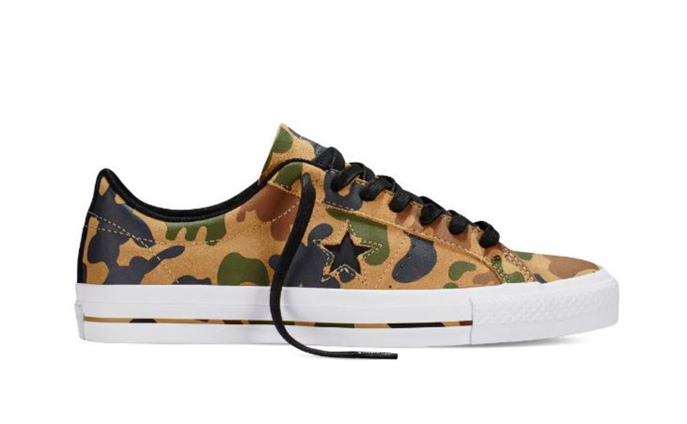 CONS ONE STAR PRO CAMO GRAPHIC