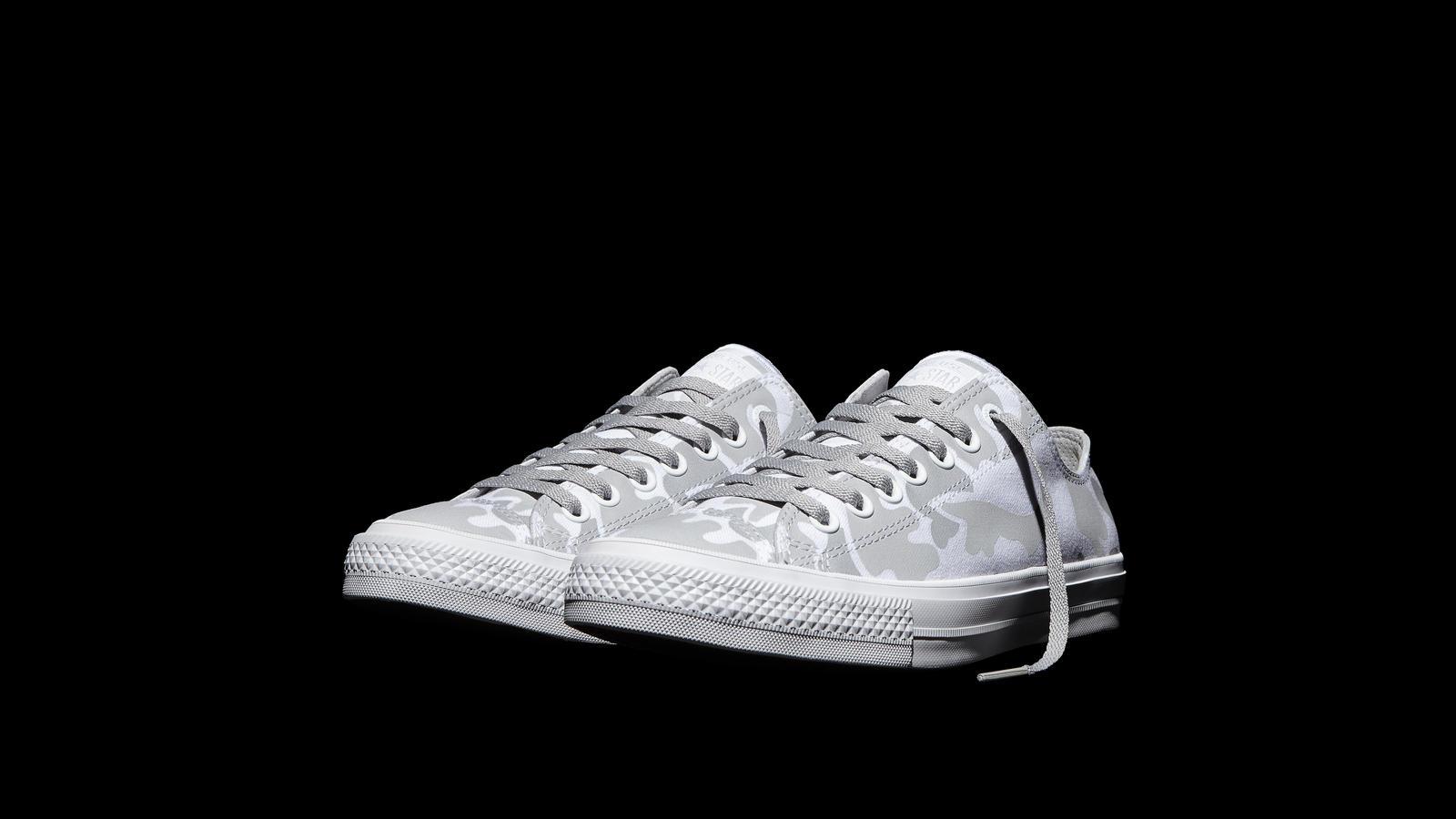3c627623d1ae Converse Chuck Taylor All Star Ii Reflective Camo White Pair Original