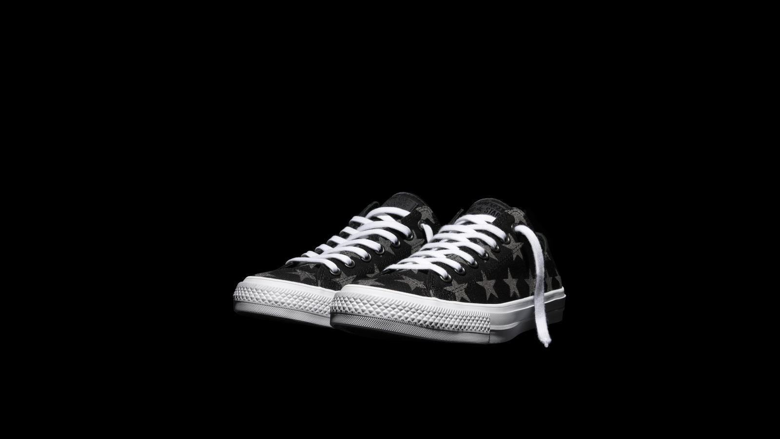 01318d7ba8c Converse Chuck Taylor All Star Ii Reflective Stars Black Pair Original