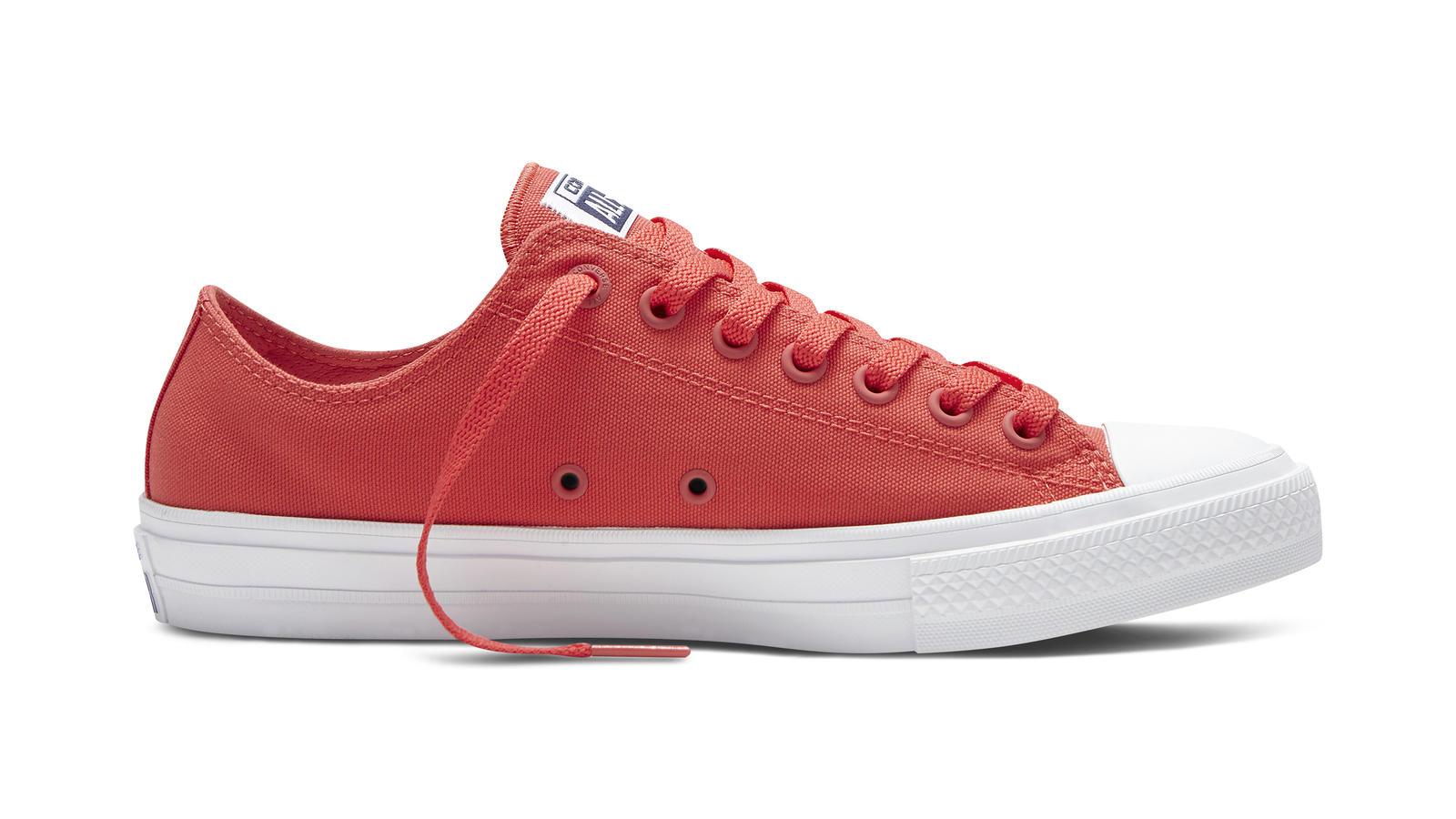 d874eb1e2ecd Converse Chuck Taylor All Star Ii Neon Coral Low Top Original