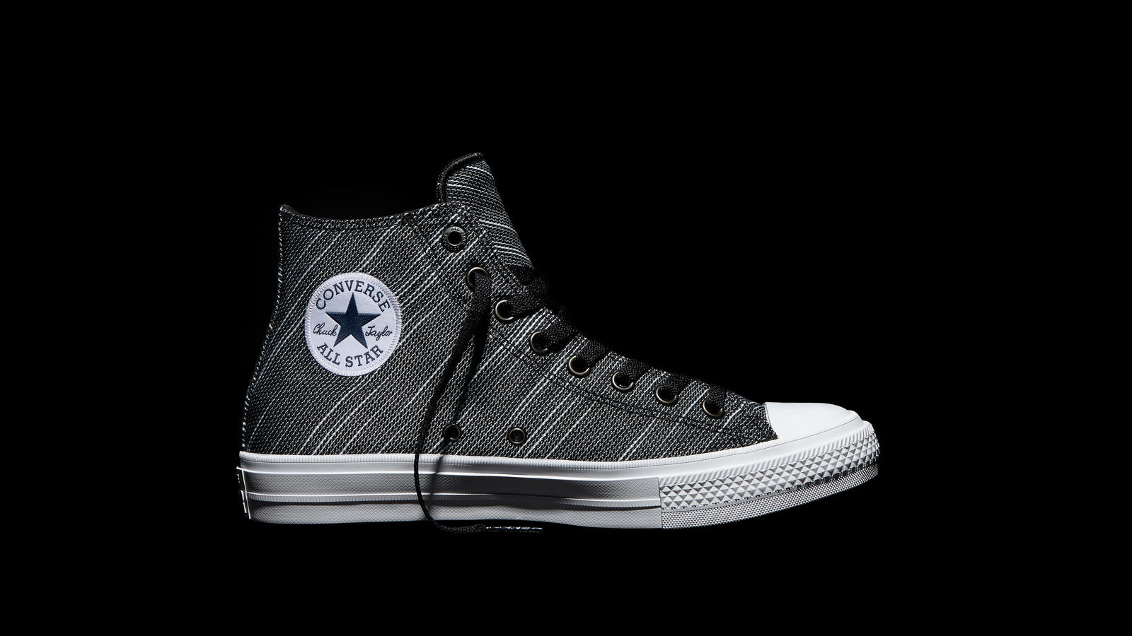 42ac0aed65cb Converse Chuck Taylor All Star Ii Knit Black High Top Original