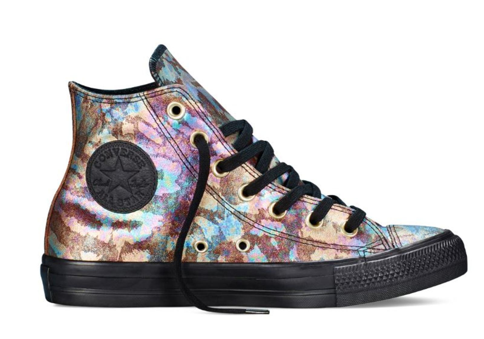 Converse chuck taylor all star iridescent leather nike news for Converse all star amazon