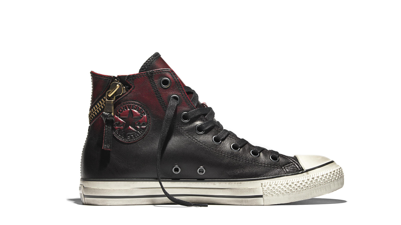 8a2d5acba832 Converse Chuck Taylor All Star John Varvatos Torando Zip Leather Original