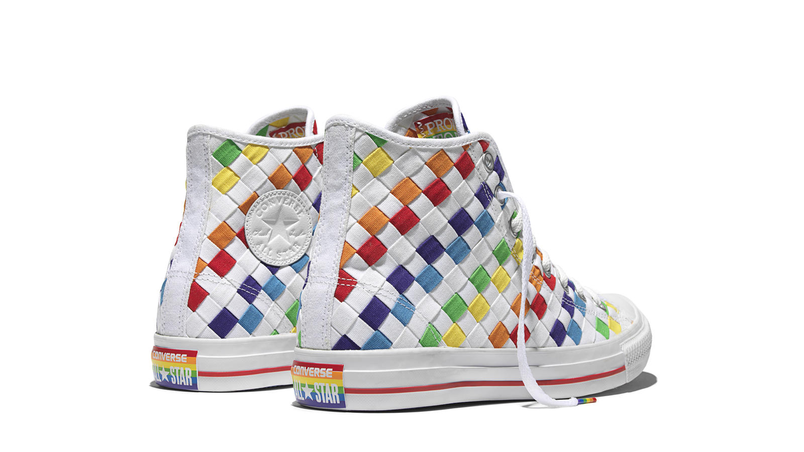 Converse Chuck Taylor All Star Pride   Rainbow Back Original