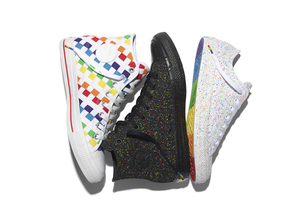 THE 2016 CONVERSE PRIDE COLLECTION CELEBRATES THE CREATIVITY OF ALL CONSUMERS
