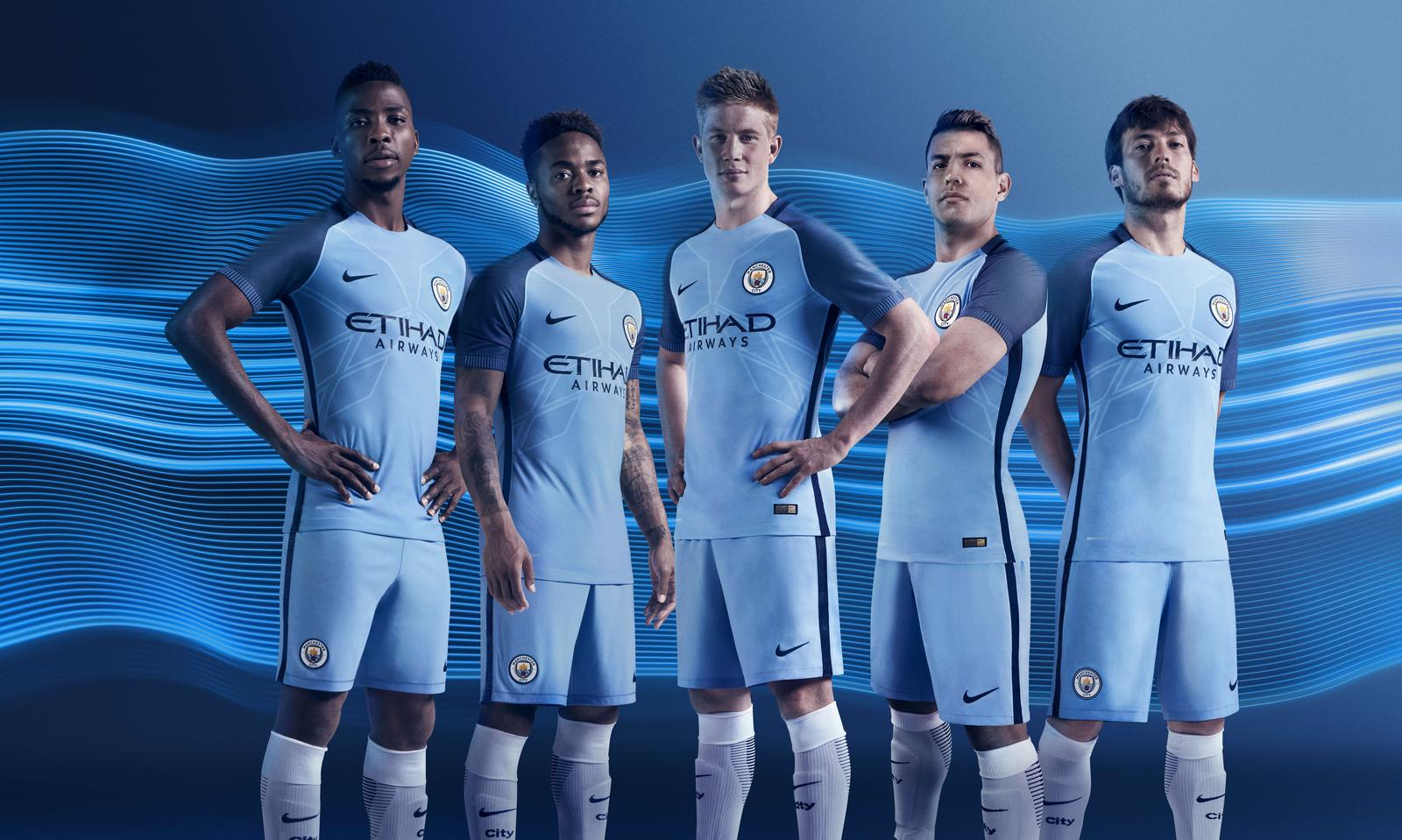 Man City: Manchester City Home Kit 2016-17