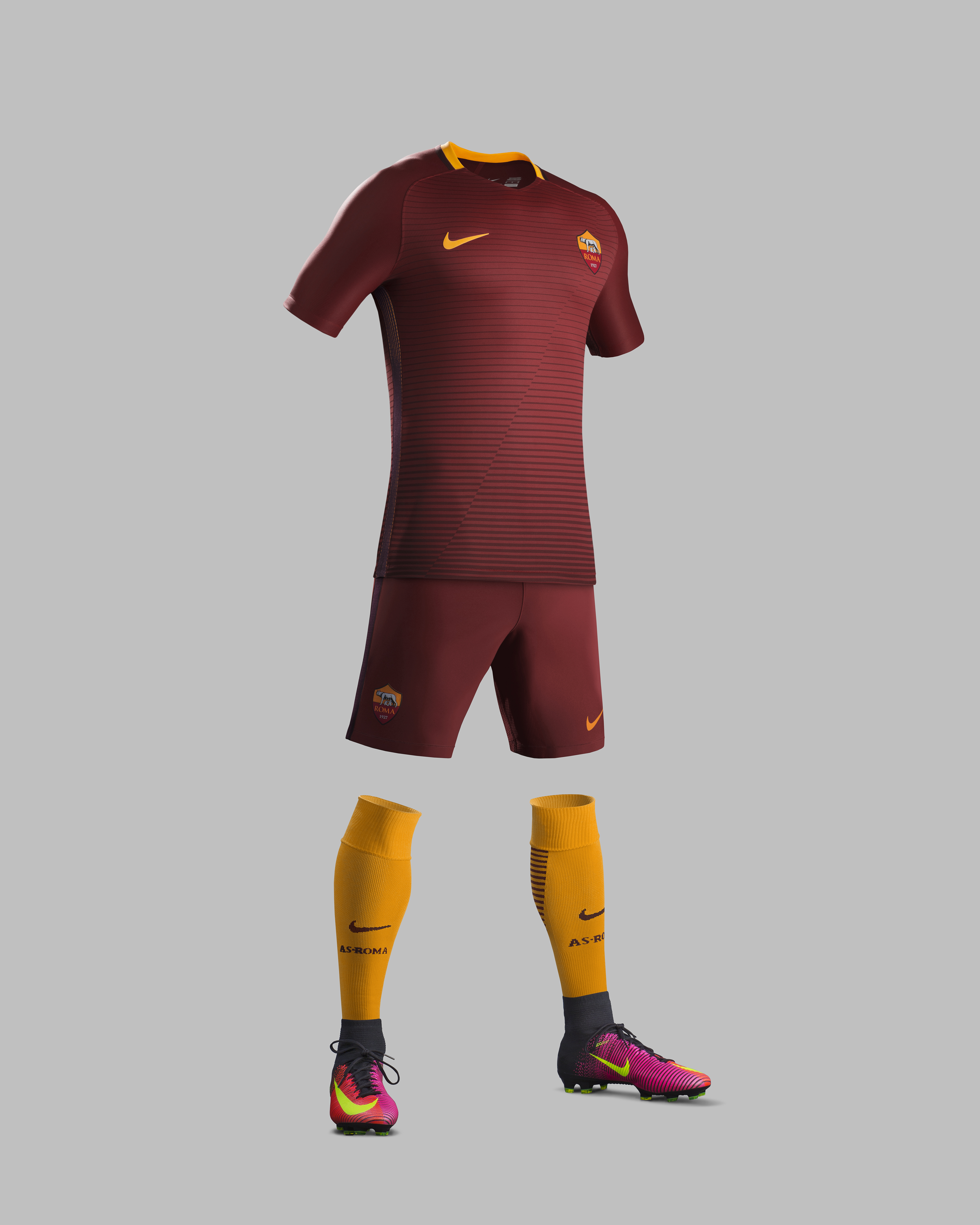 as roma home kit 2016 17 - Yellow Home 2016