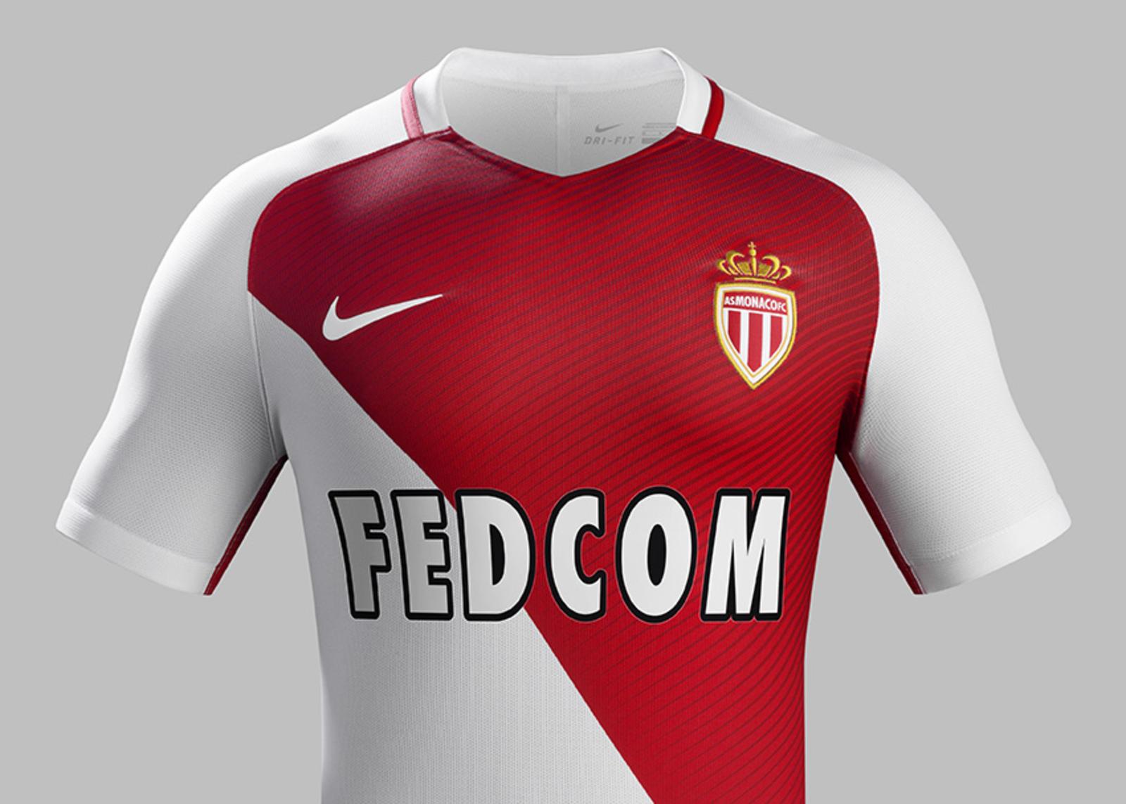 7ecc19d80 AS Monaco Home Kit 2016-17 - Nike News