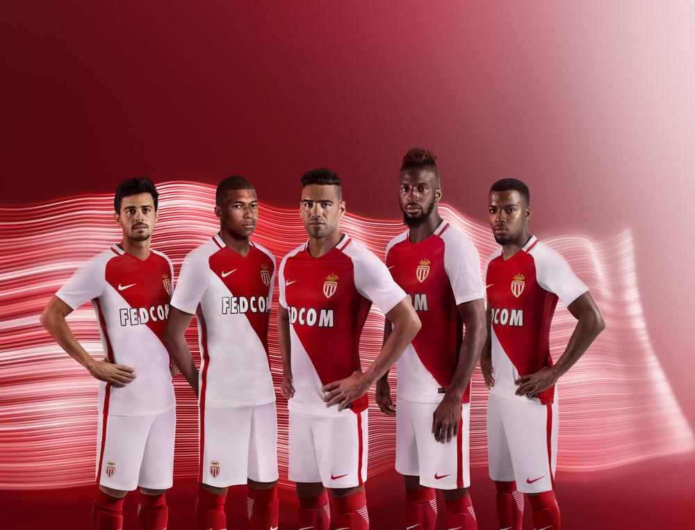 AS Monaco Home Kit 2016-17