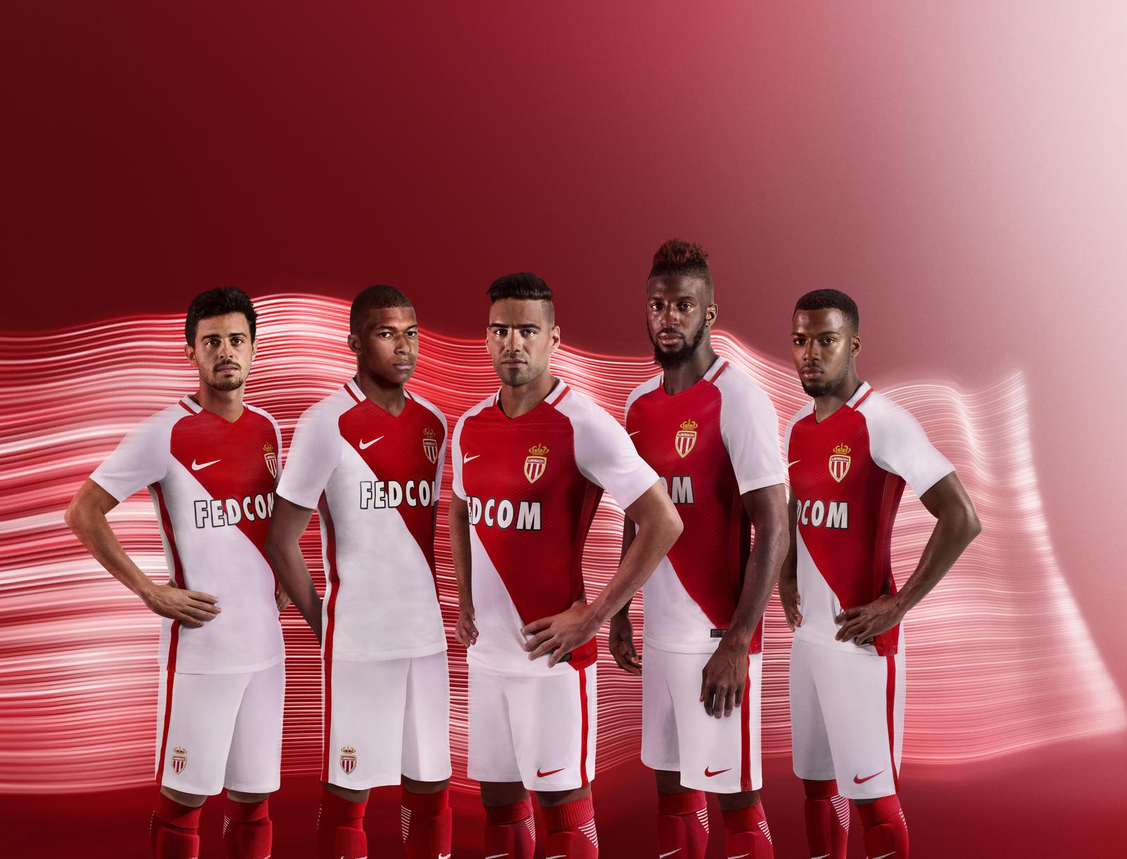 Maglia Home AS Monaco nuove